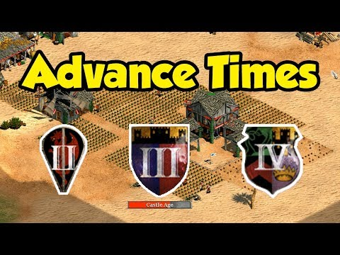 Advance Times in AoE2