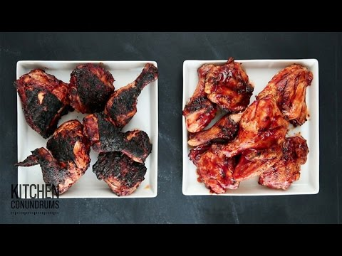 The Trick to Barbecuing Chicken - Kitchen Conundrums with Thomas Joseph
