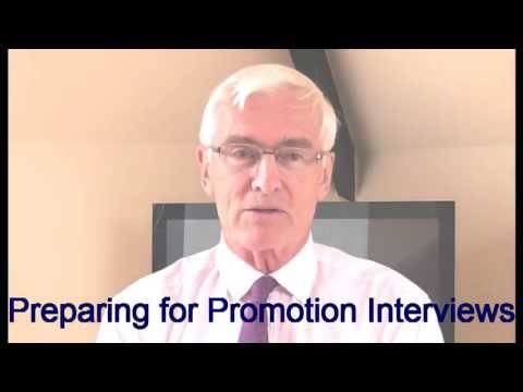 Promotion Interviews - Preparing for promotion interviews
