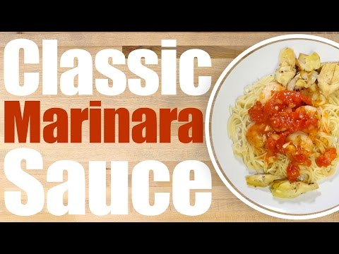 Classic Marinara Sauce Recipe - How to make Easy Pasta Sauce