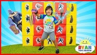 Giant Smash Surprise Avengers Infinity Wars Superhero Toys!!!