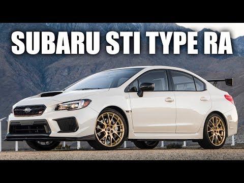 2018 Subaru WRX STI Type RA Review - The $50,000 STI