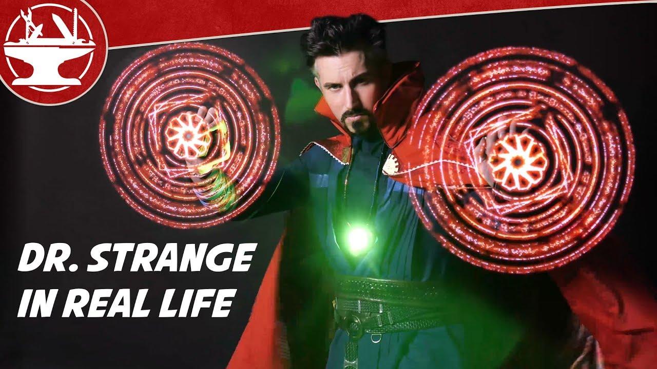Dr Strange in Real Life? (SPELLS, PORTALS & MORE)