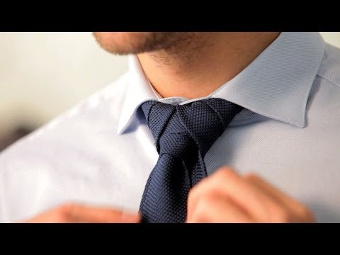 How to Tie a Merovingian Knot   Men's Fashion