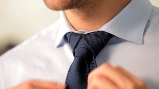 How To Tie A Merovingian Knot Men S Fashion