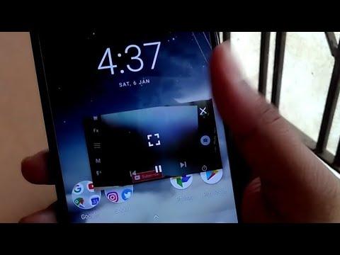 Playing YouTube in PiP mode !! (Mi A1 oreo)