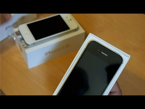 iPhone 4S unboxing review: AT&T and Verizon