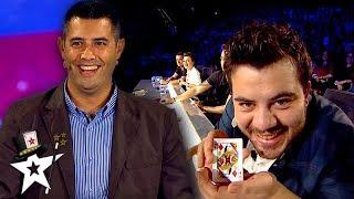 Magician Does AMAZING Card Magic on Turkey's Got Talent | Magicians Got Talent