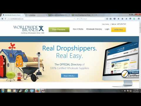 Drop shipping & Wholesalers (Exposed)