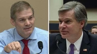 Rep. Jordan presses Wray over Strzok, anti-Trump dossier