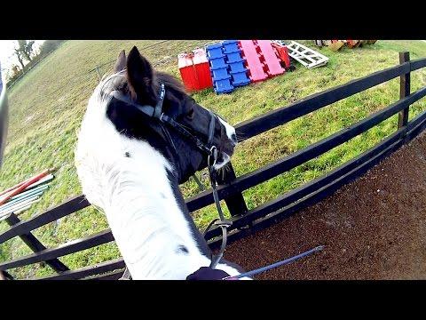 Angled Jumping & Spooky Corners! - Helmet Cam