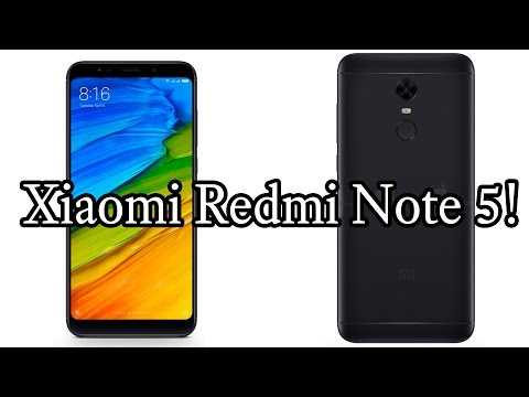 Xiaomi Redmi Note 5 (Redmi 5 Plus) First Specs And Thoughts!