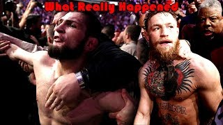 What Really Happened at UFC 229 (Khabib Nurmagomedov vs Conor McGregor)