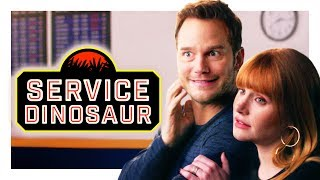 My Dinosaur Is a Service Animal (with Chris Pratt and Bryce Dallas Howard!) | CH Shorts