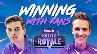 Winning With Fans #2!! - Fortnite Battle Royale Gameplay - Ninja