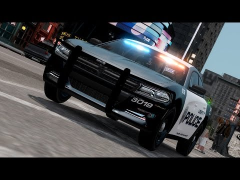2015 Police Dodge Charger [GTA IV Car Mod]