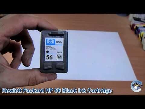 Inside HP 56 (C6656A) Black Ink Cartridge