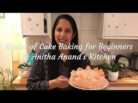 Basics of Cake Baking For Beginners - Tamil Commentary
