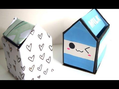 {DIY} Mini Trash Can Desk Organization & Accessories to Make Your Desk Kawaii! |