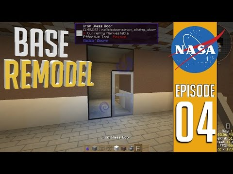 BASE REMODELING!! Space Astronomy Minecraft Mod