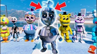 BRAND NEW BALLOON BOY ANIMATRONIC! SILVER BB! (GTA 5 Mods For Kids FNAF RedHatter)