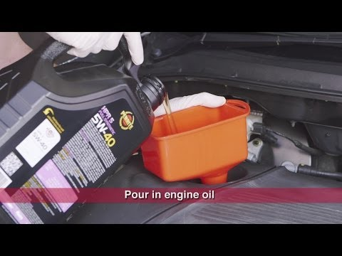 How to - Changing Engine Oil & Filter // Supercheap Auto