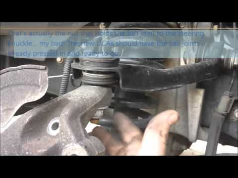 Replacing the Upper Control Arms/Ball Joints on your 2003, 2004, or 2005 Ford Panther vehicle