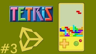 3 - Unity Game Development - Create A Tetris Game - Tetris Object - Unity Tetris Game Tutorial