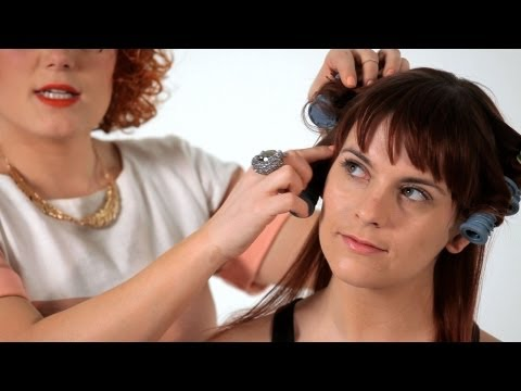 How to Use Hot Rollers | Hair Tutorials