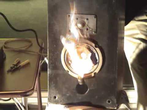 Speaker Fire