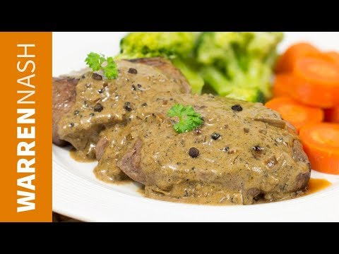 Peppercorn Sauce Recipe for steak - Creamy & Delicious - Recipes by Warren Nash