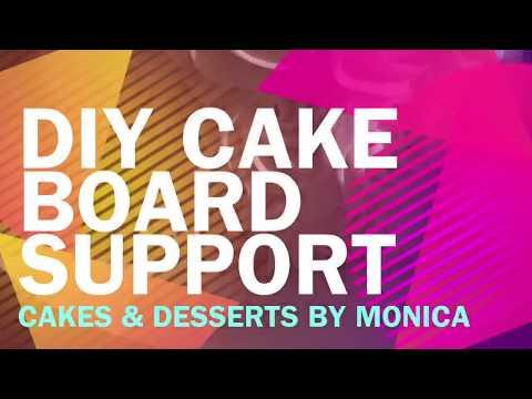 DIY Cake Board Support