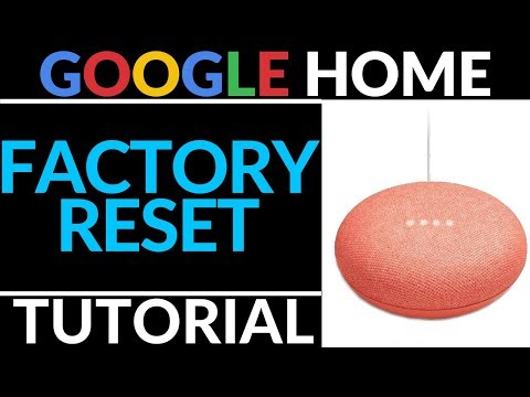 How To Factory Reset Google Home Mini - Google Home Tutorial