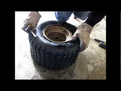 How To Remove a Go Kart Tire, Then Fix a Rusty Rim