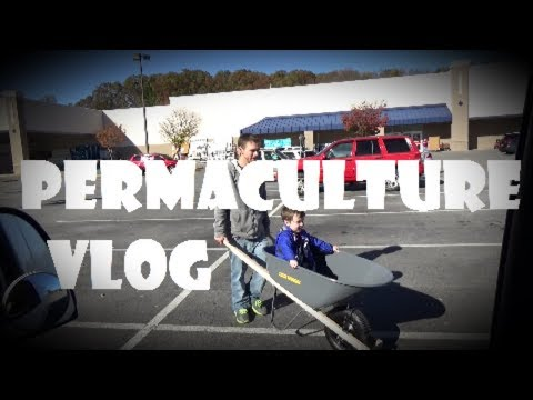 Permaculture VLOG - Woodchip Wheelbarrow Shopping