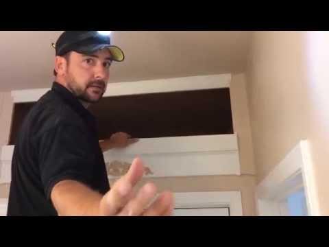 How to make hidden closet space