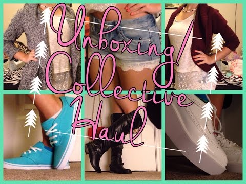Unboxing/Collective Haul Sammydress, Bealls, Vans