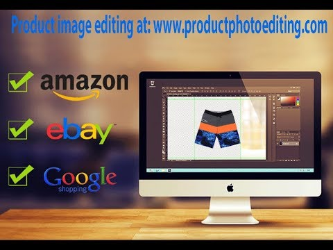 How to edit Product Photo to sell on Amazon, eBay and Google Shopping