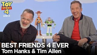 """""""Best Friends 4 Ever"""" with Tom Hanks & Tim Allen   Toy Story 4"""
