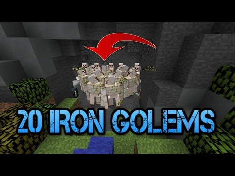 Hypixel Bedwars TROLL l When you get 30 iron golems...