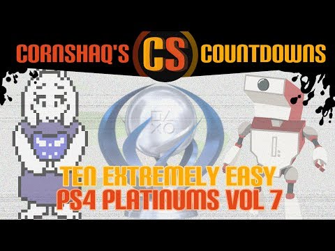 10 EXTREMELY EASY PS4 PLATINUM TROPHIES VOL 7