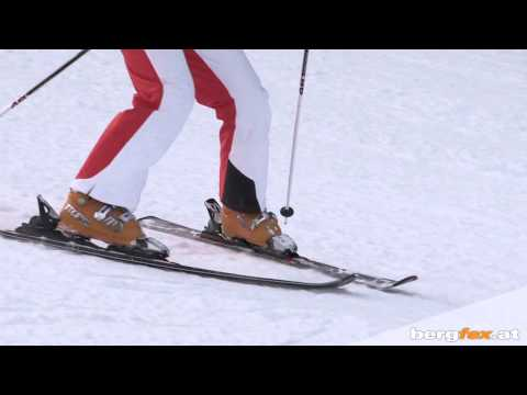 Learning to ski: Snow Plow - Carving in the wedge position | English