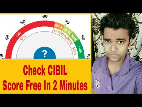 How To Check CIBIL Score, Credit Score, Loan Credit Free In 2 Minutes