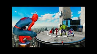 Download Finding The Avengers in Spiderman PS4! Video