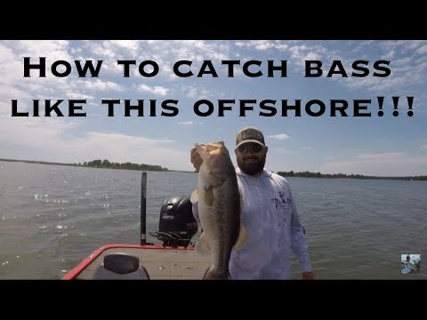 Lake Fork Post Spawn Bass Fishing: Offshore Structure Tips