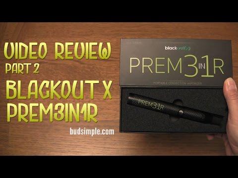 Blackout X PREM3in1R (Convention Vape) Review Part 2 - Budsimple.com
