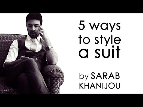 How To Style The Same Suit In 5 Different Ways
