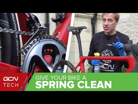 How To Give Your Bike A Spring Clean