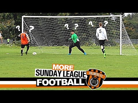 MORE Sunday League Football - HE MISSED?