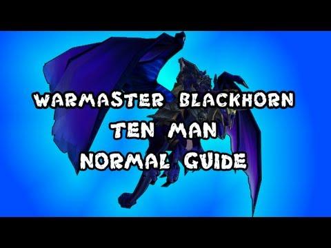 Warmaster Blackhorn 10 Man Normal Dragon Soul Guide - FATBOSS
